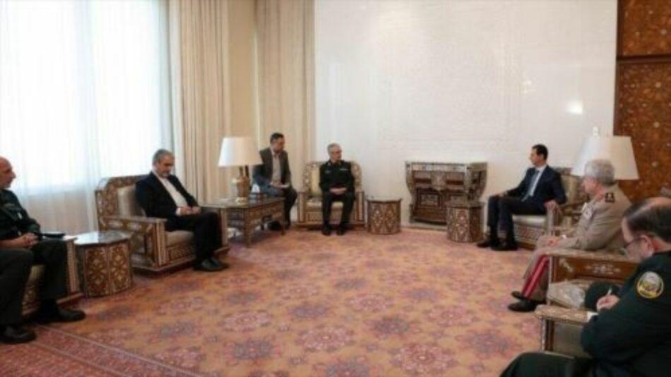 Siria. Al-Assad: Acuerdo militar con Irán es resultados de años de cooperación