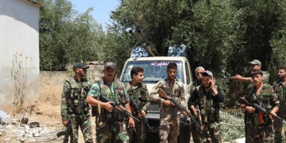Fuerza de élite del Ejército sirio llega a Idleb
