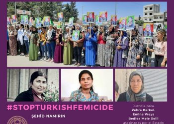 Women Defend Rojava Madrid condena el brutal ataque de Turquía contra Helîncê