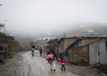 Pobreza y castigo en Ticlio Chico, la zona marginal más fría de Lima