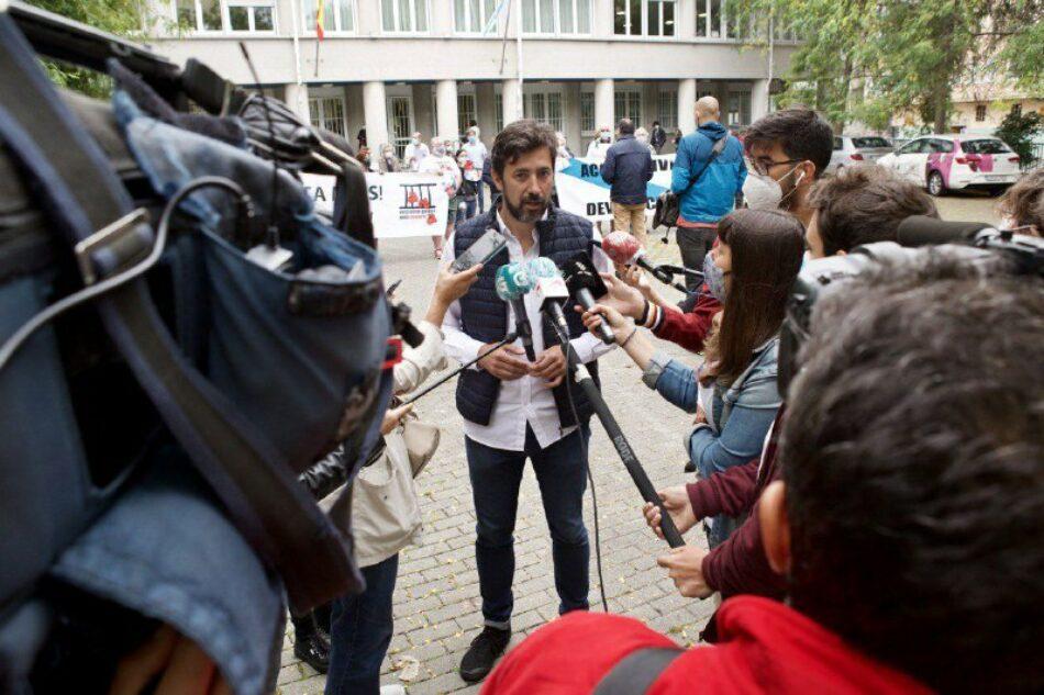 """Gómez Reino (Galicia en Común): """"Seremos o Goberno da memoria democrática. Faremos que o patrimonio espoliado dos Franco retorne ás mans da galegas"""""""