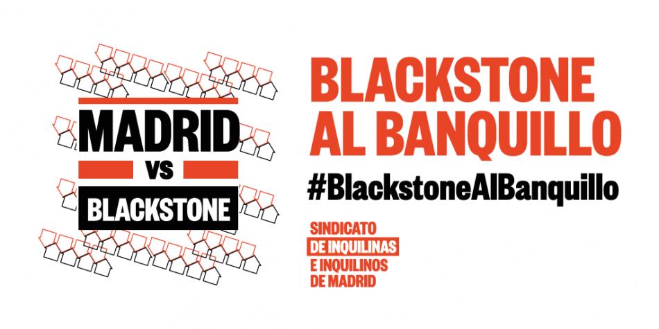 El Sindicato de Inquilinas e Inquilinos de Madrid sienta en el banquillo al fondo buitre Blackstone por vulnerar la ley en la redacción de sus contratos