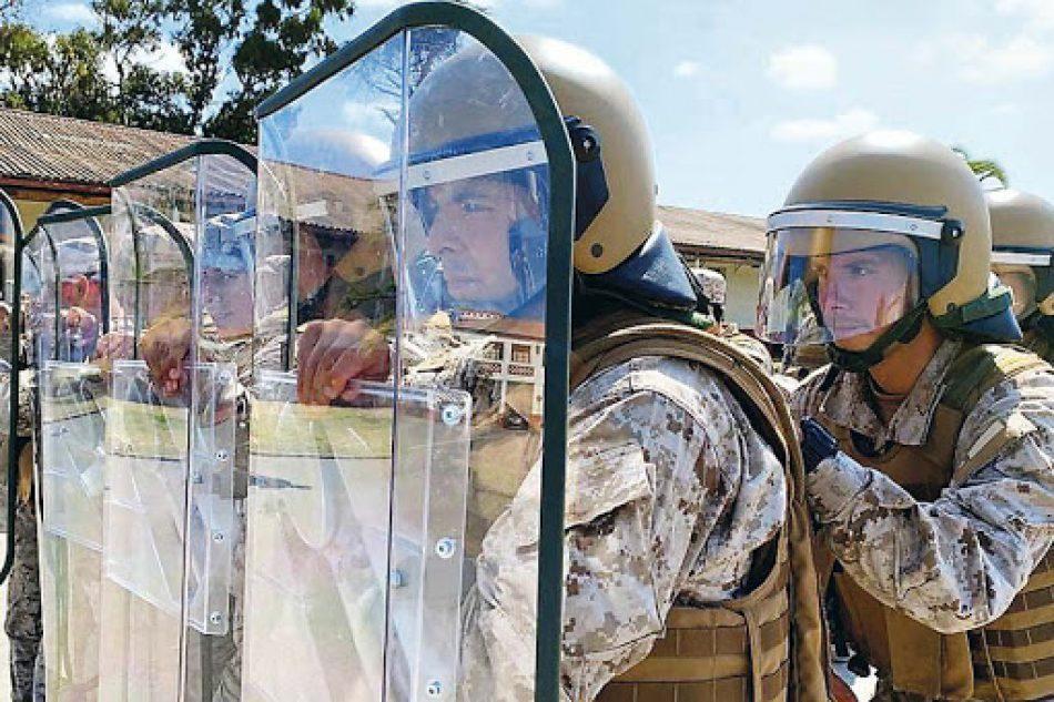 El Ejército chileno se prepara para la «guerrilla urbana» post cuarentena