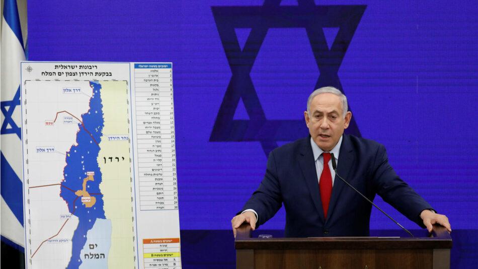 ¡Todo el apoyo al pueblo palestino! ¡Abajo el plan de usurpación territorial de los neonazis Netanyahu y Trump!