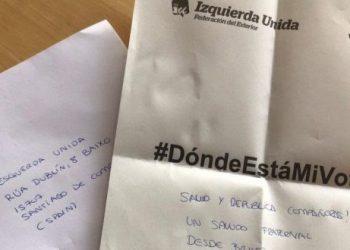 La emigración gallega y vasca en Argentina se quedaría sin votar el 12J por los retrasos del voto rogado, según una simulación de IU Exterior