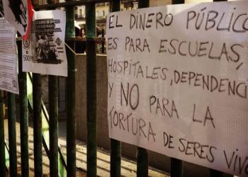 """Izquierda Unida muestra su rechazo a que """"la tortura animal"""" vuelva a Alcalá de Henares"""