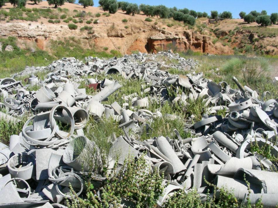 El Grupo para una Ley Integral del Amianto presenta la perspectiva medioambiental de la propuesta de ley