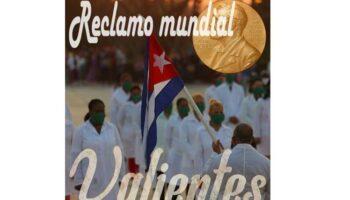 Más de 200 asociaciones de 26 países piden Nobel para médicos de Cuba