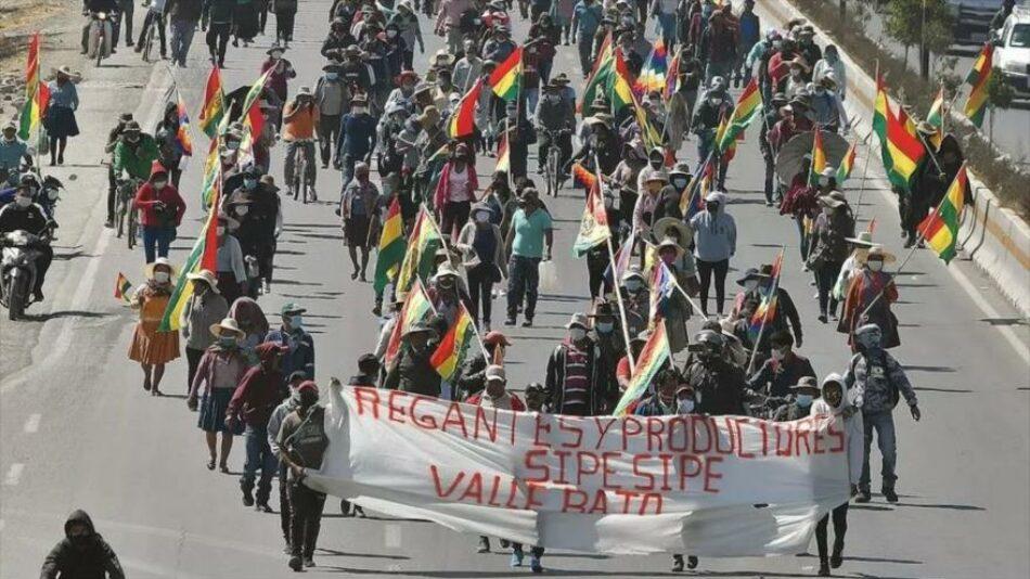 """Un ministro de Áñez amenaza con """"meter bala"""" a los manifestantes"""