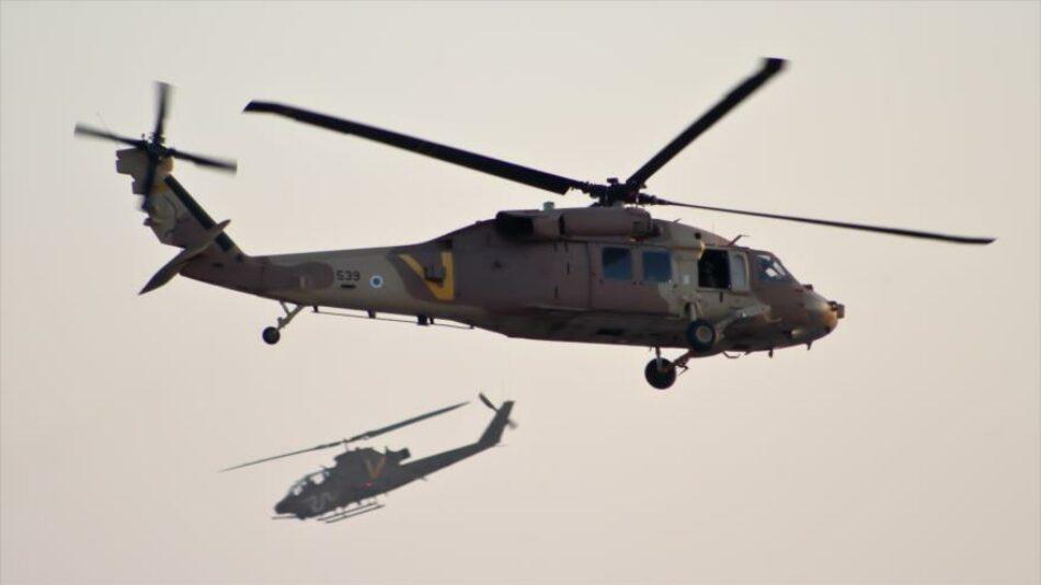 Helicóptero israelí ataca por error asentamientos cerca de Gaza