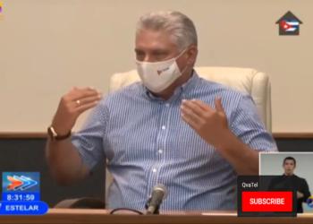 Presidente de Cuba enaltece avances de vacuna contra la Covid-19