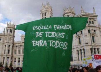 Los sindicatos anuncian huelga del profesorado en Madrid