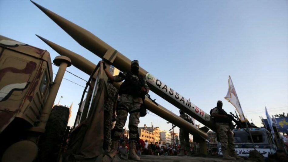 HAMAS muestra músculo a Israel lanzando misiles hacia Mediterráneo