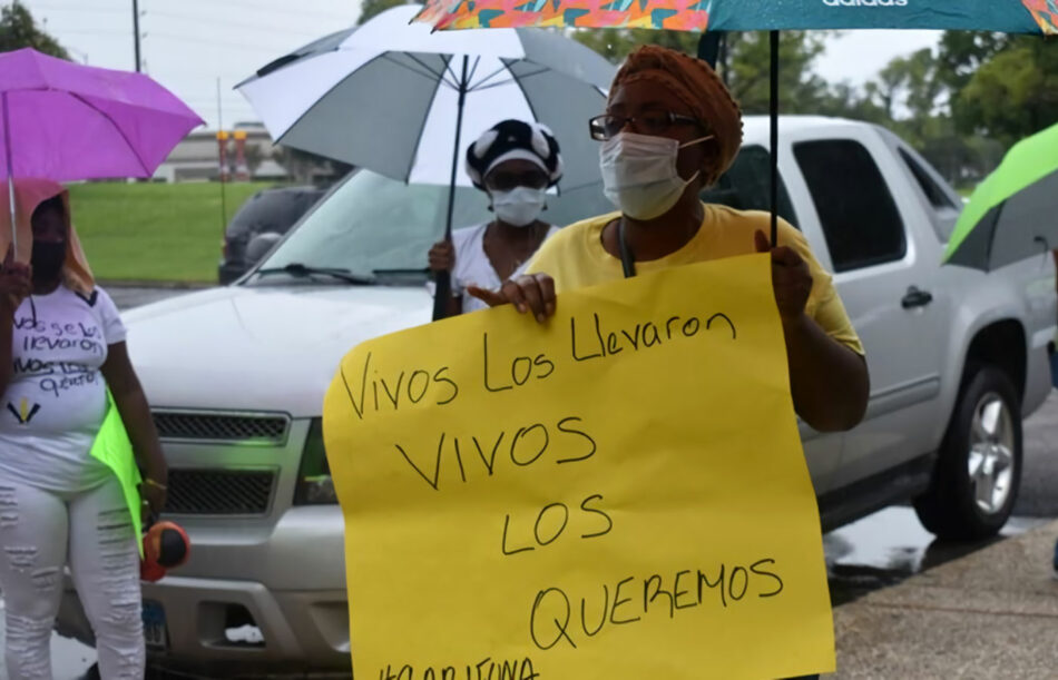 Desaparición forzada de dirigentes garífunas en Honduras
