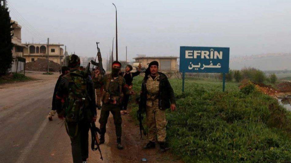 Los mercenarios secuestraron a 78 civiles en Afrin en el mes de julio