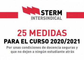 """STERM critica a la Consejería de Educación por """"desatender las demandas de la comunidad educativa"""""""