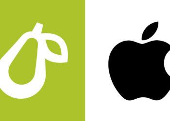 Apple demanda a una pequeña empresa gastronómica por usar una pera como logotipo