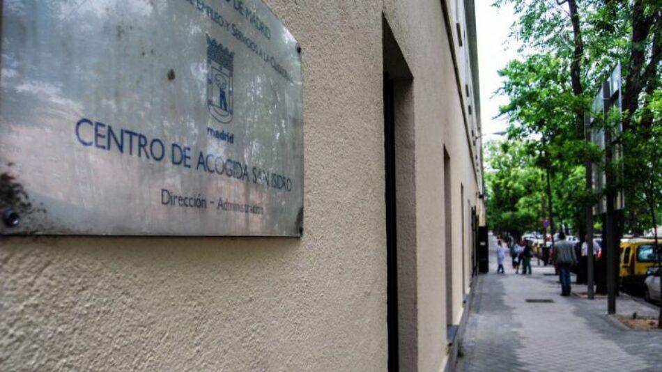 CGT denuncia el abandono institucional de la plantilla del centro de acogida 'San Isidro' de Madrid