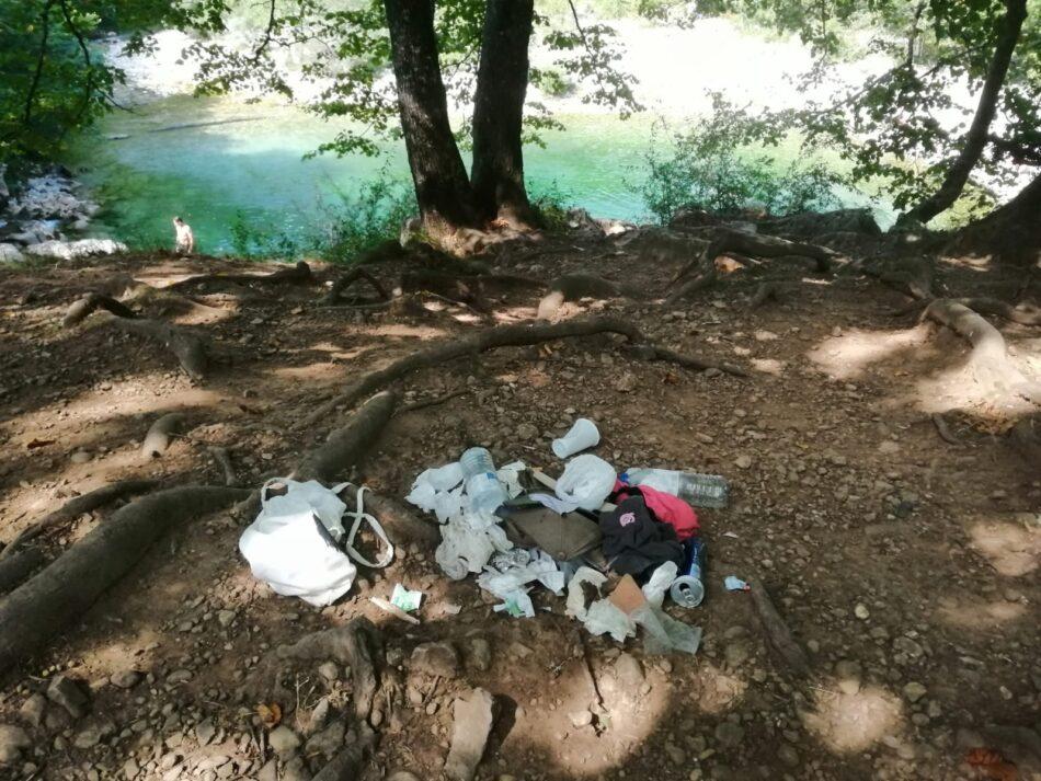 La Coordinadora Ecoloxista d´Asturies denuncia el deterioro de la Olla de San Vicente