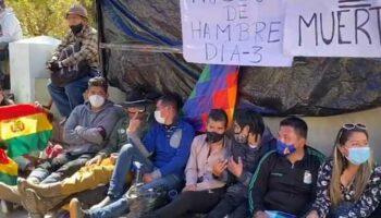 Juventudes del MAS llaman a respaldar huelga de hambre en Bolivia