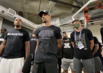 Los jugadores de la NBA declaran huelga ante la brutalidad policial