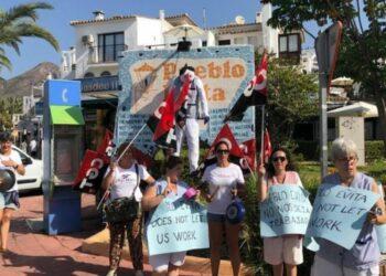 Las prácticas ilegales de Pueblo Evita contra el derecho Fundamental a la Huelga de sus Kellys reciben sanción MUY GRAVE de la Inspección de trabajo de Málaga