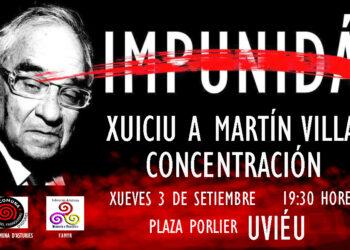 Organizaciones de Memoria Histórica convocan una concentración contra la impuniad de Martín Villa