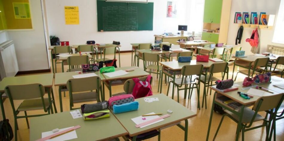 IU CyL exige más seguridad para el regreso a las escuelas
