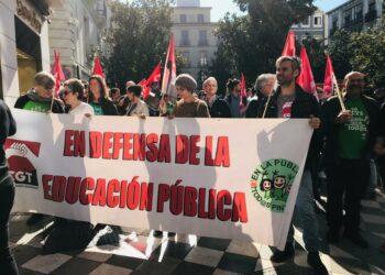 CGT llama al resto de sindicatos a sumarse a la huelga educativa en Andalucía