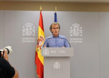 Fernando Simón niega que España se encuentre a nivel general en una situación de riesgo de colapso sanitario