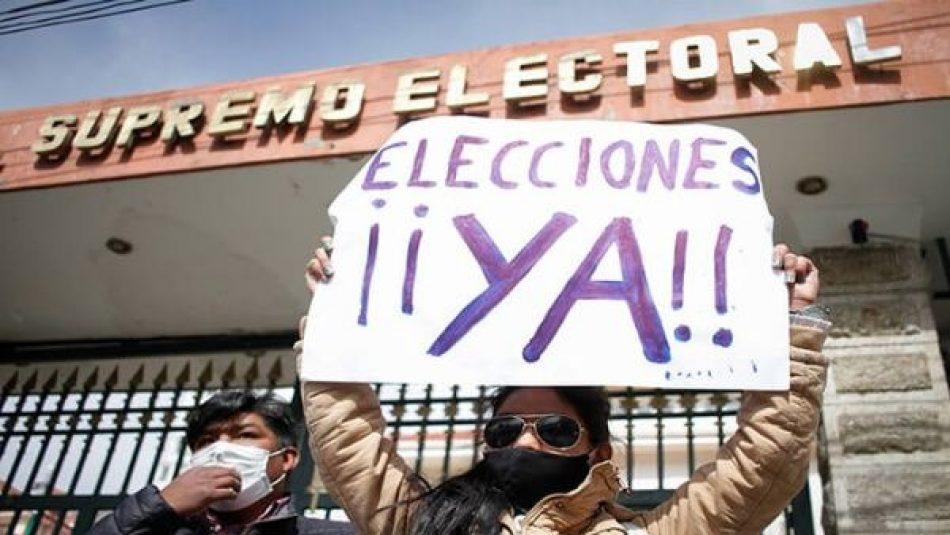 Bolivia en crisis desde el golpe de Estado de 2019