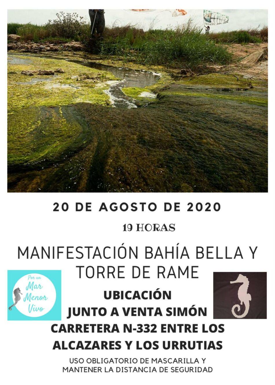 Movilizaciones para la protección medioambiental del Mar Menor