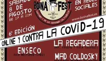 La Regadera, Enseco y Mad Coldosky cierran el cartel del Boina Fest en su lucha contra la despoblación y el coronavirus