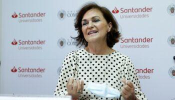 """EH Bildu, ERC y Junts per Catalunya solicitan la comparecencia urgente de Carmen Calvo para explicar """"el papel del Gobierno en la huida del rey emérito"""""""