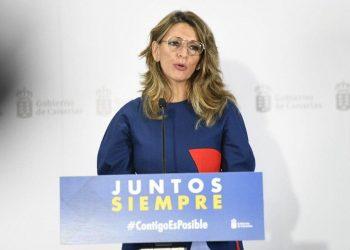 Yolanda Díaz intensificará las inspecciones de Trabajo para combatir la precariedad laboral en el campo