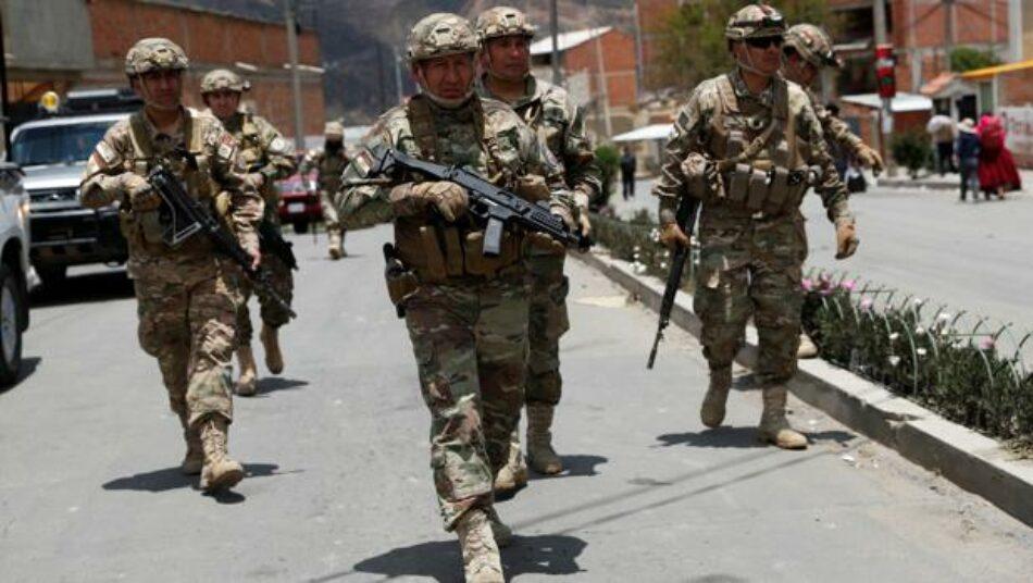 Gobierno de facto militariza ciudades en respuesta a crisis en Bolivia