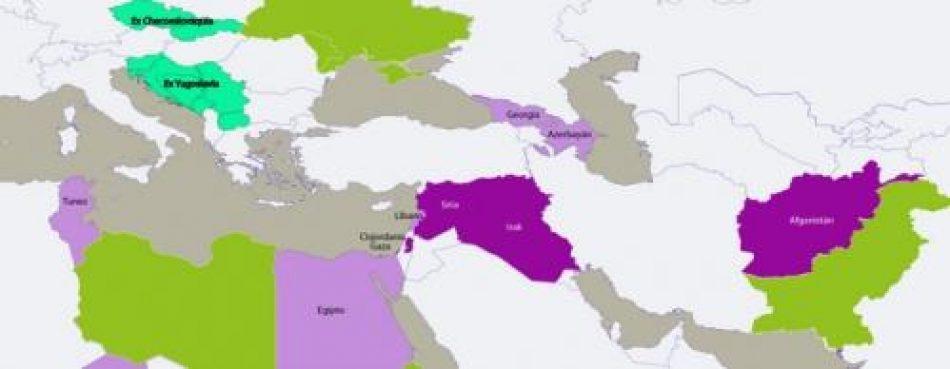 Reconfiguración geoestratégica y crisis sanitaria en Medio Oriente