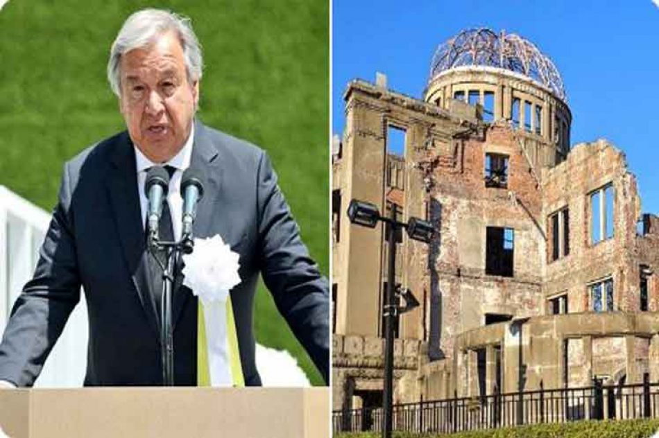 Al recordar Hiroshima, ONU reitera llamado a eliminar armas nucleares