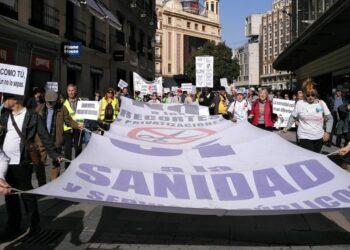 La Marea Blanca solicita al gobierno una auditoría de la gestión sanitaria en la Comunidad de Madrid