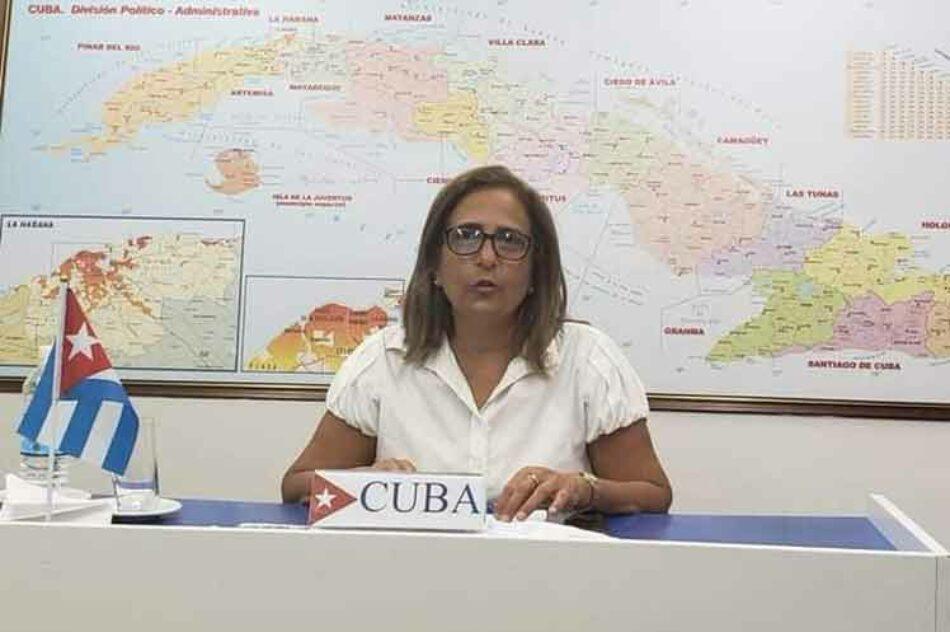 Cuba denuncia agresividad de EE.UU. en medio de pandemia