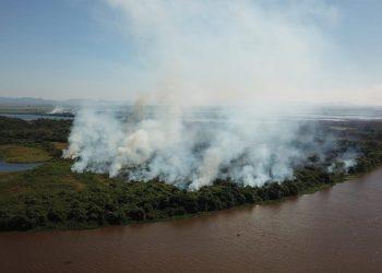 Más de 1.600 focos de incendios en la región brasileña de Panatal