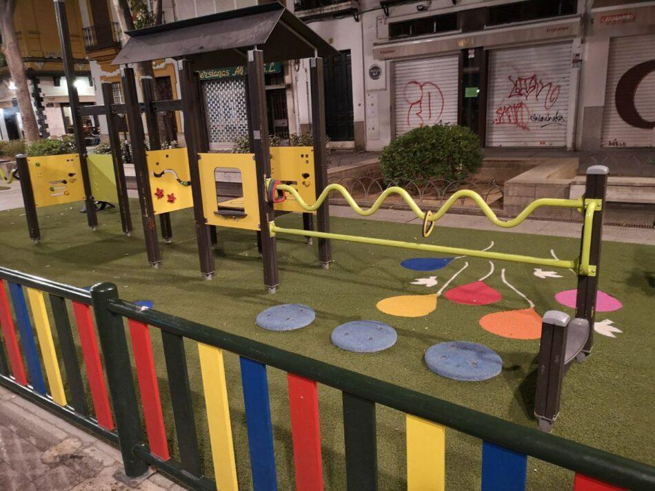 Podemos exige la reapertura gradual de los parques infantiles de Sevilla