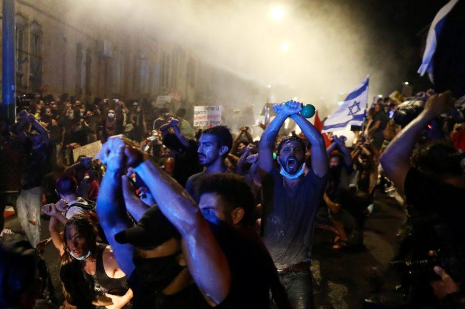 Movilizaciones masivas reclaman la dimisión de Netanyahu en Israel