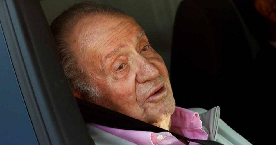 Juan Carlos de Borbón huye de España tras destapar la justicia de Suiza múltiples escándalos de corrupción