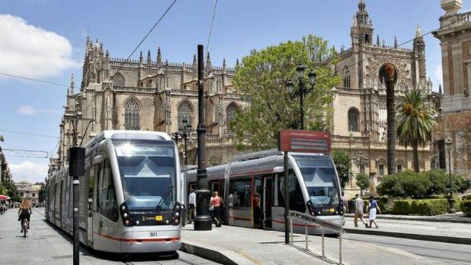 """Adelante Sevilla quiere que el Ministerio de Transición Ecológica """"examine con lupa"""" el proyecto de ampliación del tranvía"""