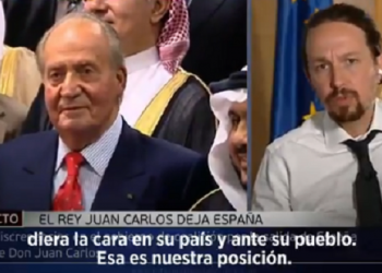 Pablo Iglesias: «Tarde o temprano los jóvenes impulsarán una república en España, el debate es legítimo»