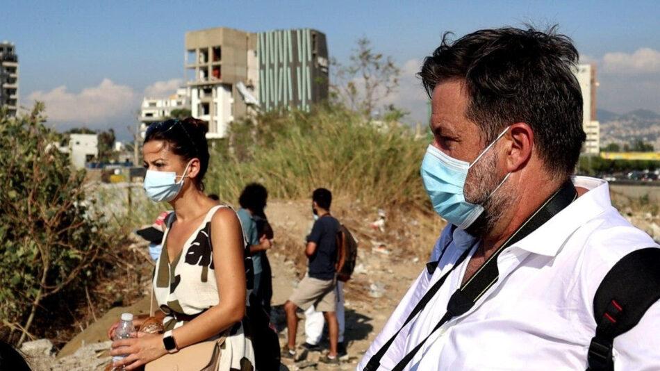 Sira Rego y Manu Pineda piden desde Beirut acompañar la reconstrucción con reformas democráticas