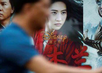 Disney y Mulan caen en la discordia de EE.UU. con China