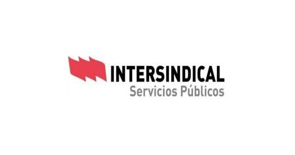 Intersindical Servicios Públicos rechaza las propuestas de congelación salarial para el personal empleado público