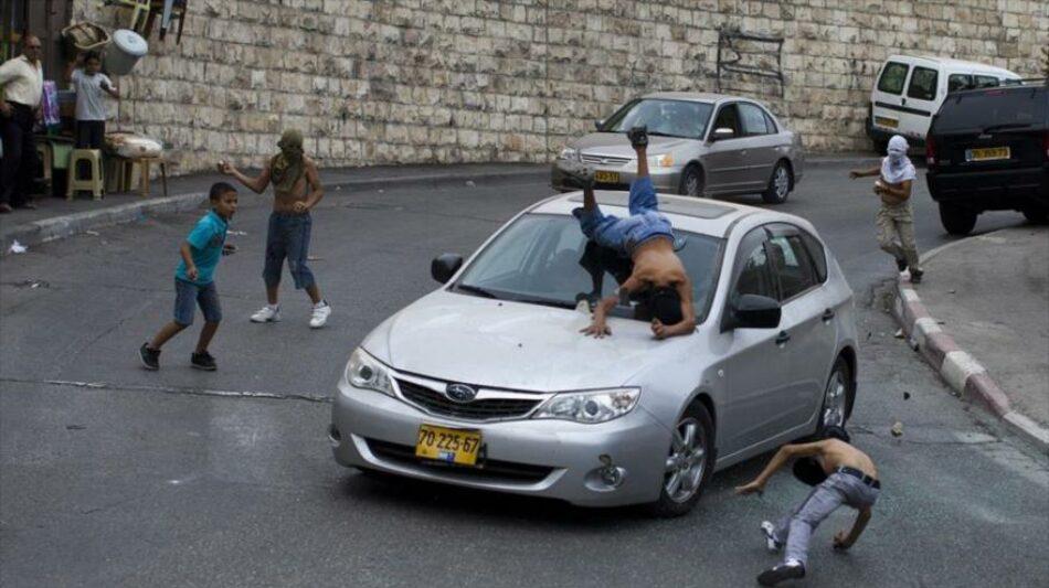 Colono israelí atropella a niño palestino de 11 años en Cisjordania